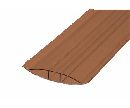 Профиль соединительный НР 4-6 мм, коричневый 6 м БСТ Фотография_0