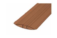 Профиль соединительный НР, 4-6 мм, коричневый, 6 м, БСТ
