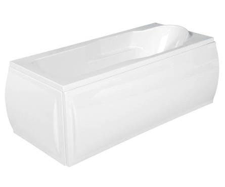 Ванна акриловая Cersanit Santana с ножками 1,5х0,7 белая Фотография_0