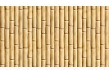 ПВХ Панель Unigue 2700*250*7мм Бамбуковая стена фигурная (лазерная печать)