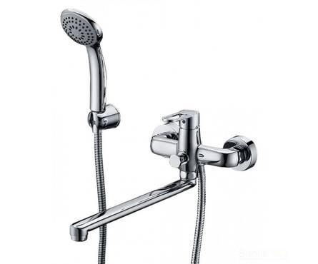 Смеситель для ванны Elghansa ECOFLOW ALPHA однорычажный с душевым комплектом 5350207 Фотография_0