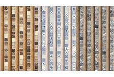 ПВХ Панель Unigue 2700*250*7мм Рейкьявик коричневый фигурная (лазерная печать)