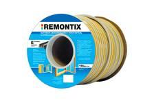 Уплотнитель Remontix самоклеящийся, бытовой, E-профиль, белый, 150 м