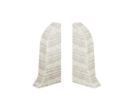 IDEAL Угол торцевой Идеал Альфа (заглушка) к/к Ясень белый пара/161