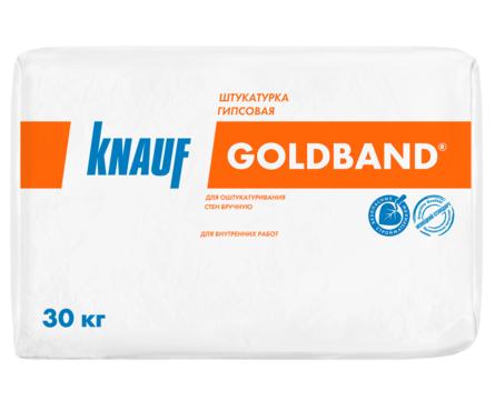Штукатурка KNAUF Гольдбанд гипсовая, универсальная, 30 кг Фотография_0