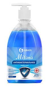 Жидкое мыло антибактериальное Milana Original 0,5л GRASS