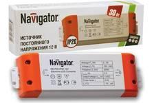 Драйвер светодиодный Navigator LED 30w 12v
