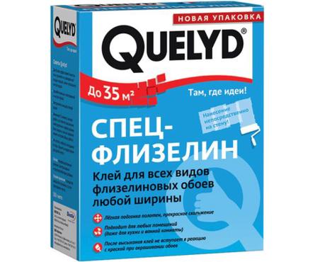 Клей для обоев QUELYD СПЕЦ-ФЛИЗЕЛИН 0.3 кг Фотография_0