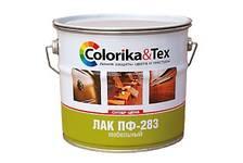 Лак ПФ-283 мебельный Colorika&Tex  глянцевый 0,8л