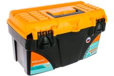 Ящик для инструментов Sturm! TBPROF218, пластиковый, 430х235х250 мм