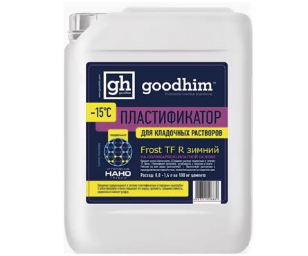 Пластификатор GOODHIM Frost TF R зимний для кладочных растворов, 5 л Фотография_0