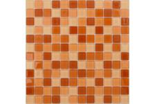Мозаика Caramelle Mosaic Acquarelle Habanero 298х298х4 мм, чип 23х23 мм
