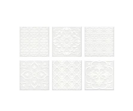 Плитка Kerama Marazzi Суррей 20 х 20 мм, белая Фотография_0
