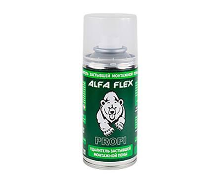 Очиститель застывшей пены ALFA Flex PROFI 210 мл Фотография_0