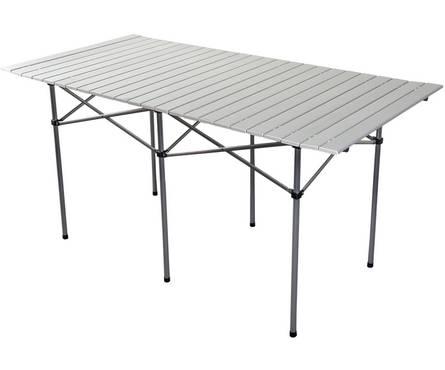 Стол складной BOYSCOUT 140*70 см алюминиевый, из полиэстра Фотография_0