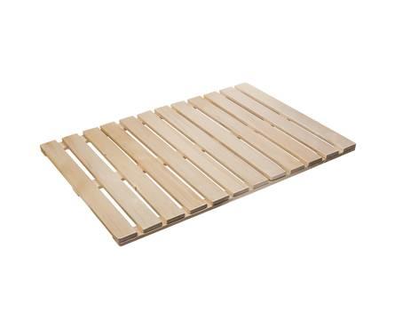 Решетка на пол Банные штучки 60х70 см для бани и сауны (липа) Фотография_0