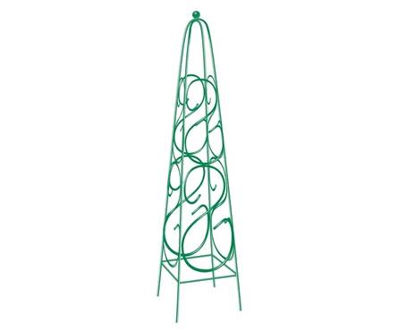 Пирамида садовая декоративная PALISAD для вьющихся растений, 112,5 х 23 см, квадратная Фотография_0
