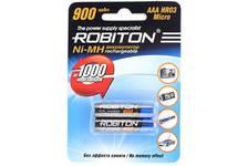 Аккумулятор R03 900mah ROBITON (2шт /уп )