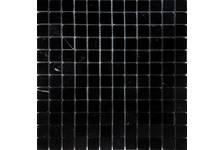 Мозаика Caramelle Mosaic Pietrine Nero oriente полированная, 298х298х4 мм, чип 23х23 мм