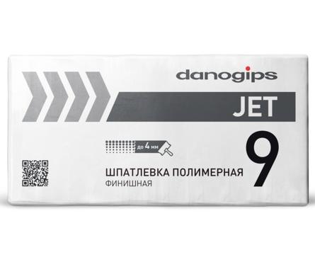Шпатлевка полимерная DANO JET 9 финишная, 20 кг Фотография_0