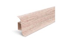 Плинтус для пола Идеал Альфа К45 Ясень светлый/254 (2.5 м)