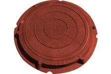Люк легкий садовый 760/90 (А-30/5тн) красный