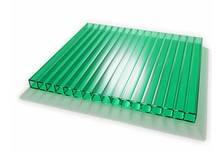 Сотовый поликарбонат SKYGLASS 10мм Зеленый (12х2,1) БСТ