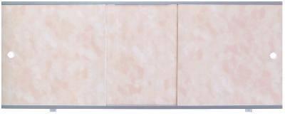 Экран для ванны Премиум А 1,5 облака розовые