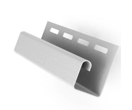 Планка J-TRIM VOX 3,81м Серая (S-115)