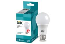 Лампа светодиодная IEK груша, 7Вт, 230В, Е27, 4000К