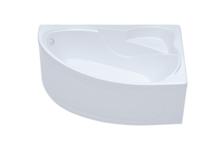 Ванна акриловая Triton Изабель ассиметричная, левая, 1700х1000 мм (каркас, экран, сифон)