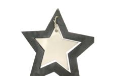 Елочное украшение Звезда 8.5 см