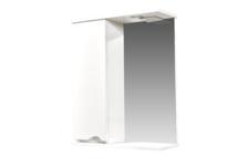 Зеркало-шкаф СТК Bello-C 60 с подсветкой, левый (белый)