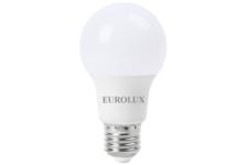 Лампа светодиодная Eurolux Груша, 9ВТ, 230В, Е27, 2700К