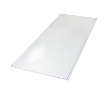 ПВХ Панель 3000*375*7,5мм Белый глянец