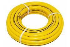 Шланг поливочный USP армированный, трехслойный, желтый 3/4х25 м