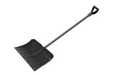 Лопата для снега Usp 450х330 мм, алюминиевый черенок