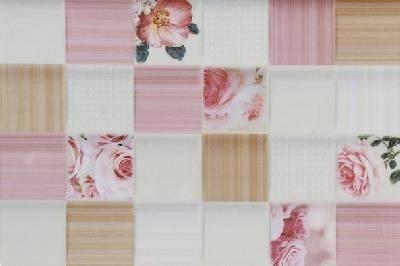 Романтика розовая низ 03 плитка облицовочная 200х300 (1 уп. 24 шт 1,44 м2) 1 сорт Фотография_0