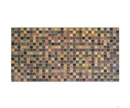 Панель ПВХ Декопан 960*480 мм Античность коричневая