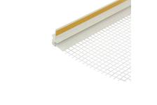 Профиль примыкания оконный с армирующей сеткой, самоклеящийся, 6 мм/2,4 м