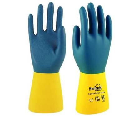 Перчатки латексные L Manipula Specialist СОЮЗ Фотография_0