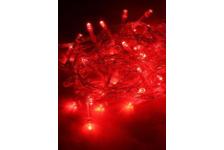Гирлянда КОСМОС 8.8м, 80LED, цвет красный, внутренняя, 220V