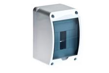Бокс Ruvinil КМПн, 4 автомата, для наружной установки, с крышкой, IP40