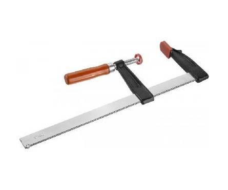 Струбцина F-образная, 120х500мм, деревянная ручка, стальная закаленная рейка ЗУБР СТАНДАРТ