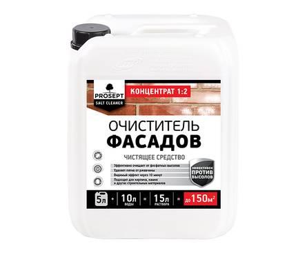 Очиститель фасадов Prosept Salt Cleaner против высолов 5 л Фотография_0