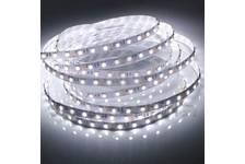 Лента LED верх. свеч. IP33 12В 14,4Вт/м SMD5050 Бел/теп 3000К 60Led/м (упк/5м) Energy
