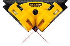 Угольник лазерный STAYER SQUARE-8 для кафеля, 8 м, точность +/-0,4 мм/м