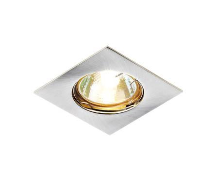 Светильник точечный Ambrella 866A SS сатин/серебро MR16 Фотография_0