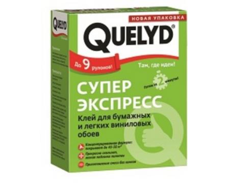 Клей для обоев QUELYD  СУПЕР ЭКСПРЕСС 0.25 кг Фотография_0