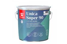 Лак алкидно-уретановый Tikkurila Unica Super 90 глянцевый, яхтный, износостойкий (2.7 л)